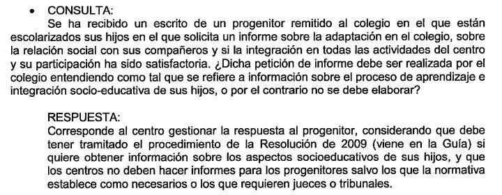 INFORMES COLEGIO