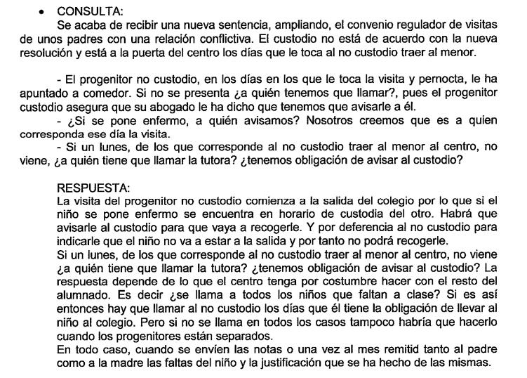 RECOGIDAS COLEGIO